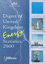 Digest of United Kingdom Energy Statistics PDF