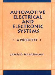 Automotive Electrical and Electronic Systems by James D. Halderman
