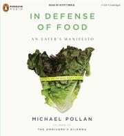 In Defense of Food by Michael Pollan, Michael Pollan