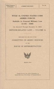 Title 10, United States Code PDF
