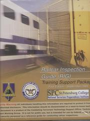 Railcar Inspection Guide (RIG): Training Support Package (looseleaf) (Controlled Item) PDF