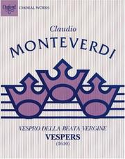 Vespro Della Beata Vergine = by Claudio Monteverdi