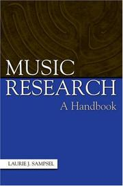 Music research by Laurie J. Sampsel