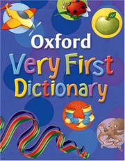 Oxford Very First Dictionary PDF