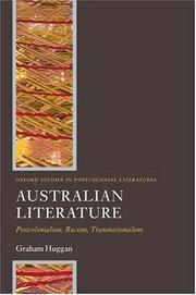Australian Literature by Graham Huggan