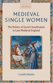 Medieval Single Women