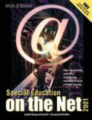 Special Education on the Net, 2001 Edition (Value-Package Option Only) PDF
