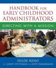 Handbook for Early Childhood Administrators