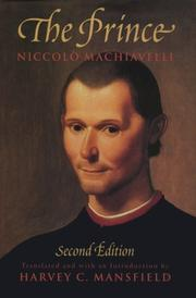 Principe by Niccol Machiavelli