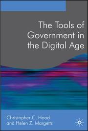 The tools of government in the digital age by Christopher Hood
