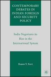 Contemporary Debates in Indian Foreign and Security Policy PDF