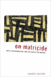 On matricide by Amber Jacobs