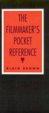 The filmmaker's pocket reference PDF
