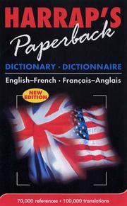 Harrap French-English/English-French Dictionary