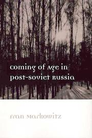 Coming of Age in Post-Soviet Russia PDF