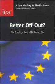 Better off out? PDF