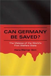 Can Germany Be Saved? by Hans-Werner Sinn