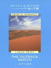 Cover of: The Outback Match | Lucy Clark