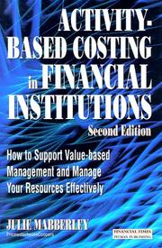 Activity Based Costing in Financial Institutions PDF