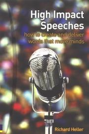High Impact Speeches by Richard Heller