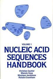 Nucleic Acid Sequences Handbook. (Vol. 1) (Nucleic Acid Sequences Handbook) PDF