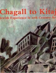 Chagall to Kitaj by Avram Kampf