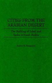 Cities from the Arabian desert