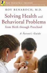Solving health and behavioral problems from birth through preschool PDF