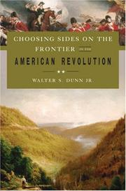 Choosing Sides on the Frontier in the American Revolution PDF