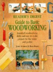 Reader's digest guide to basic woodworking