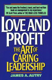Love and profit by James A. Autry