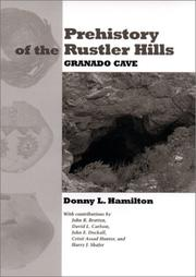 Prehistory of the Rustler Hills PDF