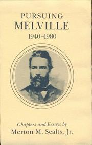 Pursuing Melville, 1940-1980 PDF