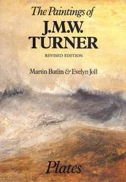 The paintings of J.M.W. Turner by Martin Butlin