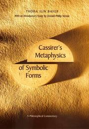 Cassirer's Metaphysics of symbolic forms PDF