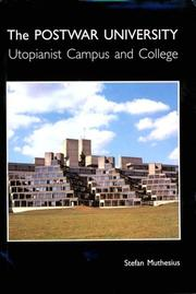 The postwar university by Stefan Muthesius