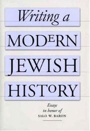 Writing a Modern Jewish History PDF