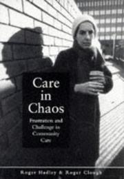 Care in chaos PDF