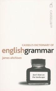 Cassell Dictionary of English Grammar