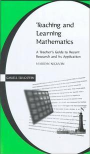 Teaching and Learning Mathematics PDF