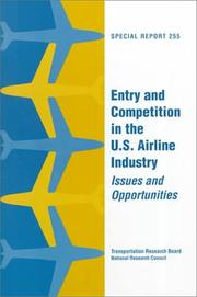 Entry and competition in the U.S. airline industry