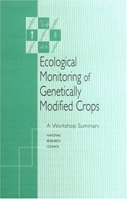 Ecological Monitoring of Genetically Modified Crops PDF