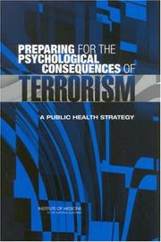 Preparing for the Psychological Consequences of Terrorism PDF