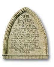 Lord's Prayer Standing Resin Plaque PDF