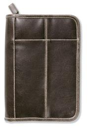Distressed Leather-Look Brown with Stitching Accent XL PDF