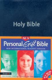 NIrV Personal Gift Bible by Zondervan Publishing Company