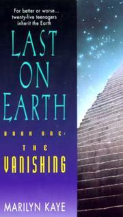 The Vanishing (Last on Earth, Book 1) PDF