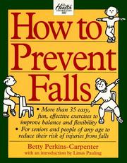 How to prevent falls by Betty Perkins-Carpenter
