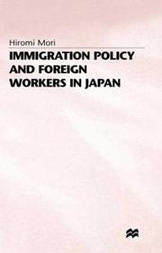 Immigration policy and foreign workers in Japan PDF