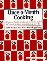 Once-a-month cooking PDF